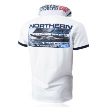Carl Torsberg Polo Oldschool Sailing White