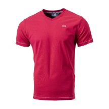 Carl Torsberg Triko Classic V-Neck Red